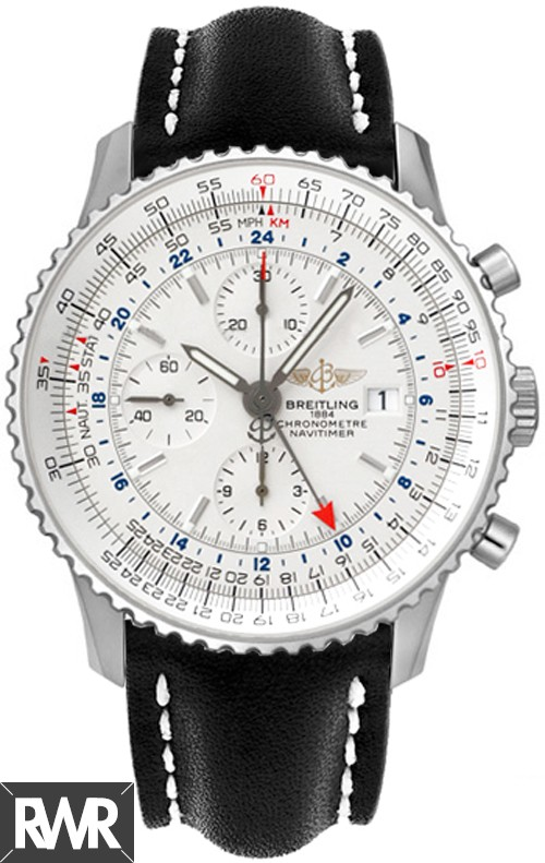 Replica Breitling Navitimer World Mens Watch Stainless Steel A2432212/G571