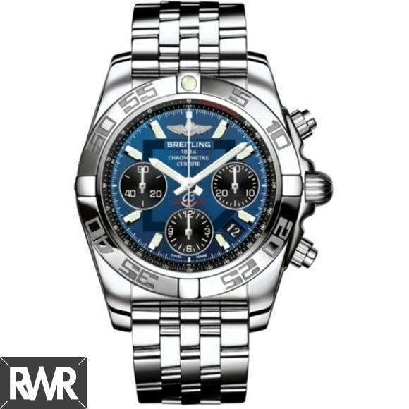 Replica Breitling Chronomat 41 Chronograph Mens Watch AB014012.C830.378A