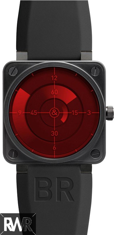 Replica Bell & Ross Aviation BR 01-92 Red Radar Watch