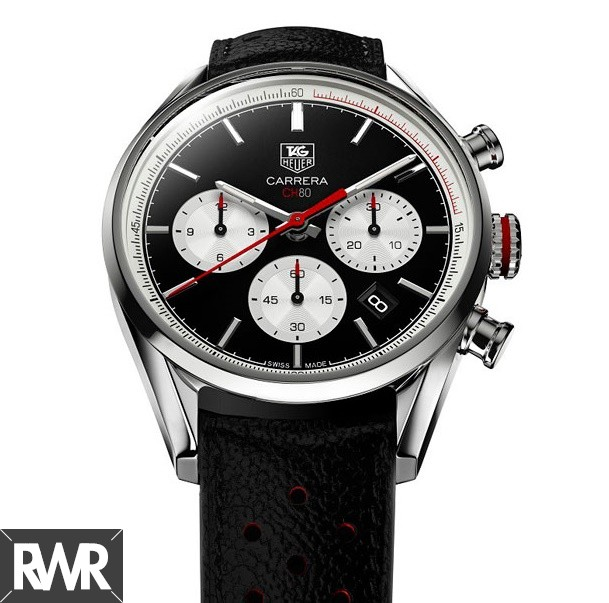 Replica TAG Heuer Carrera Calibre CH 80 Chronograph 41mm Steel CBA2110.FC6347