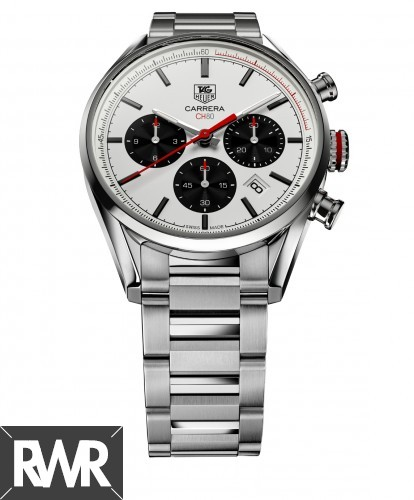 Replica TAG Heuer Carrera Calibre CH 80 Chronograph 41mm Steel CBA2111.BA0723