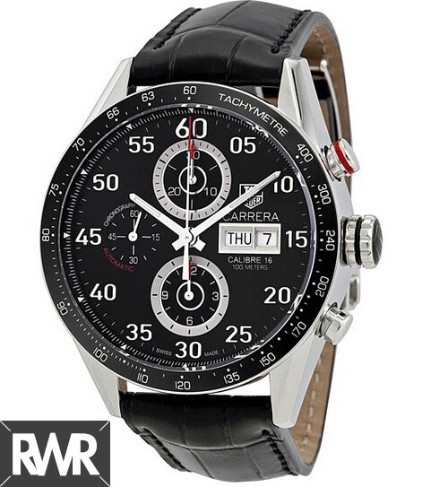 Replica Tag Heuer Carrera Calibre 16 Day Date Automatic Chronograph 43 mm CV2A10.FC6235