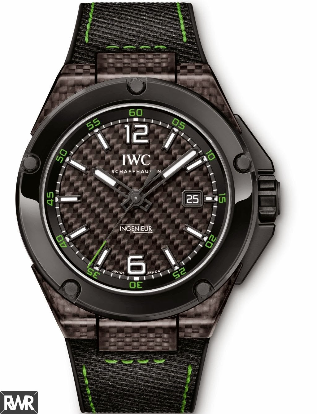 Replica IWC Ingenieur Automatic Carbon Performance Ceramic Mens Watch IW322404