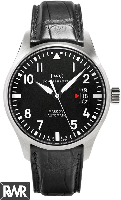 IWC Pilots Mark XVII Black Alligator Men's Watch IW326501