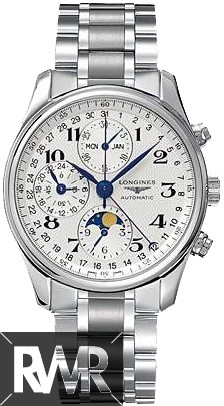 Replica Longines Master Moon Phase Chronograph Mens Watch L2.673.4.78.6