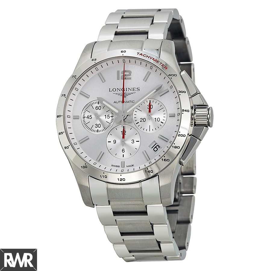 Longines Conquest Automatic Chronograph 44.5mm Mens Watch L3.697.4.76.6 Replica