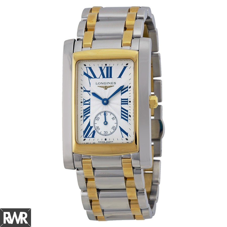 Longines DolceVita Silver Dial 18Kt Yellow Gold Ladies Watch L5.655.5.70.7 Fake