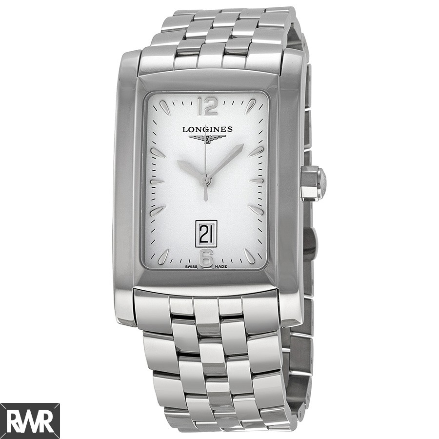 Longines DolceVita White Dial Stainless Steel Bracelet Ladies Watch L5.686.4.16.6 Fake