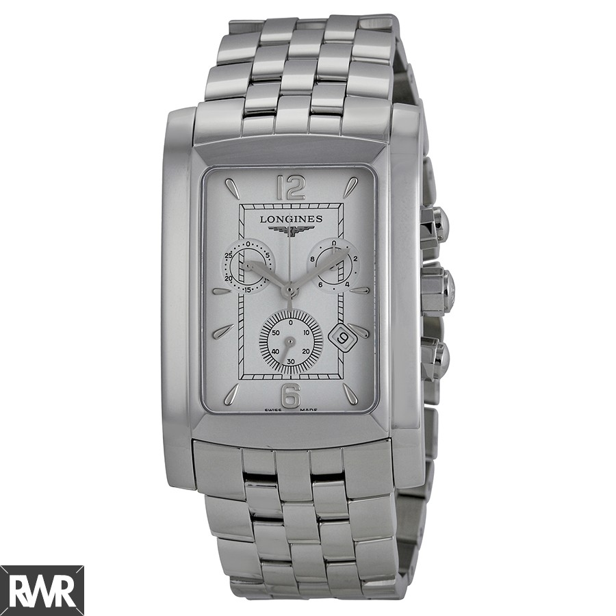 Longines Dolce Vita White Dial Chronograph Ladies Watch L5.687.4.16.6 Fake