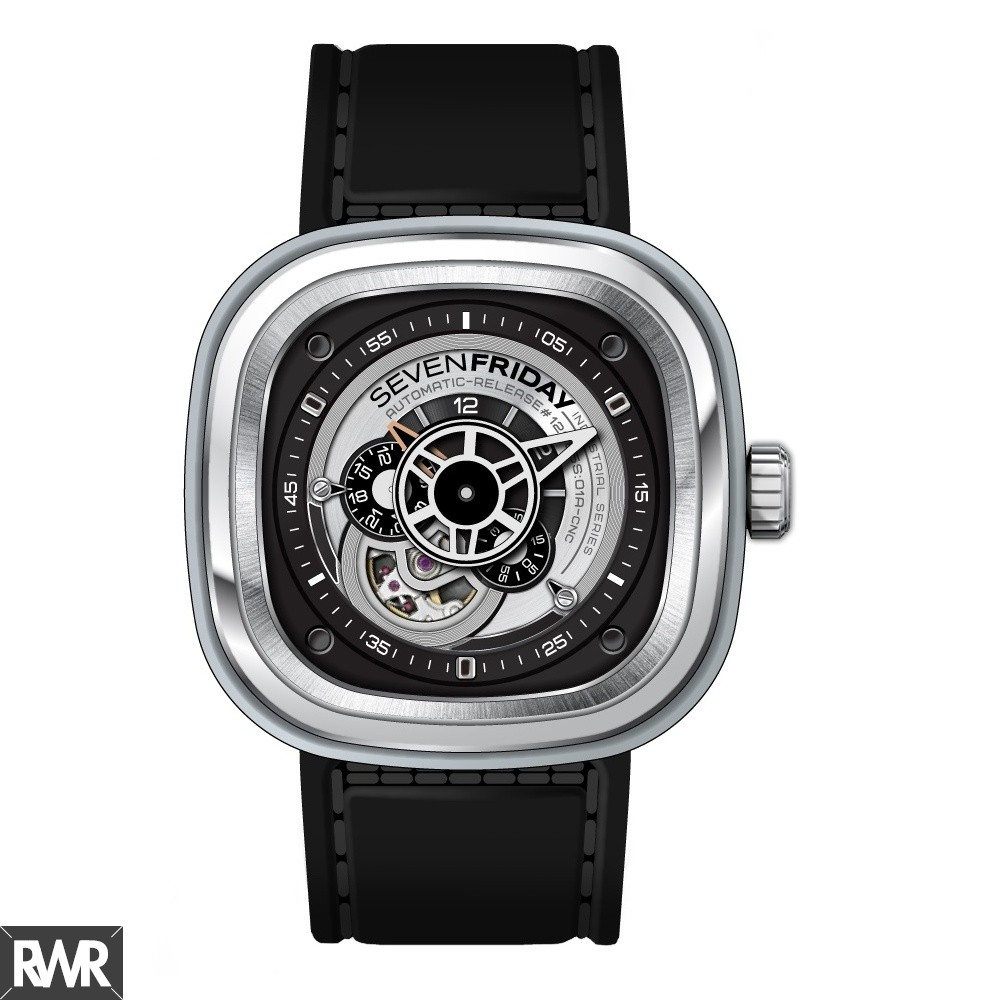 Replica SevenFriday P1-1 Stainless Steel