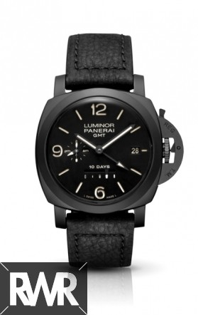 Replica Panerai Luminor 1950 10 Days GMT Ceramic PAM 00335