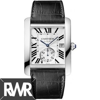 Replica Cartier Tank MC Steel Automatic Mens Watch W5330003