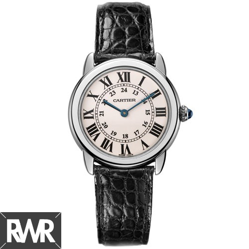 Replica Cartier Ronde Solo de Cartier watch Small Ladies Quartz Watch W6700155