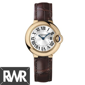 Replica Cartier Ballon Bleu Small Quartz Rose Gold W6900256