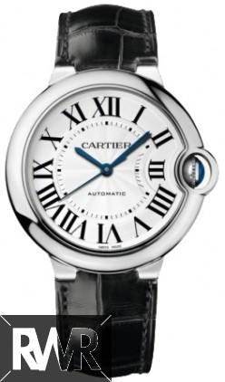 Replica Cartier Ballon Bleu Medium Automatic White Gold W6900556