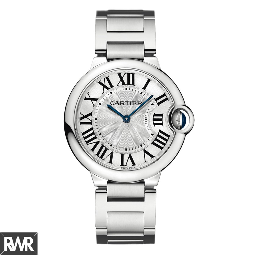 Replica Cartier Ballon Bleu De Cartier Watch 36mm Steel W69011Z4