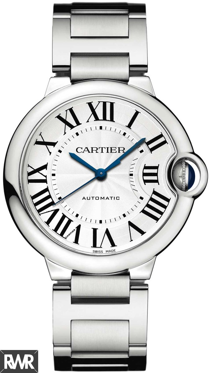 Replica Cartier Ballon Bleu De Cartier Watch 36mm Steel W6920046