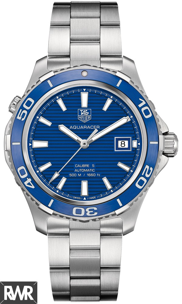 Tag Heuer Aquaracer 500M Calibre 5Automatic Watch 41 mm WAK2111.BA0830