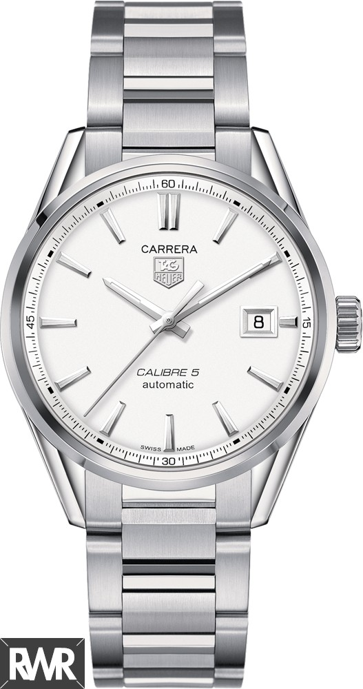 Replica TAG Heuer Carrera Calibre 5 Automatic Watch 39 mm WAR211B.BA0782