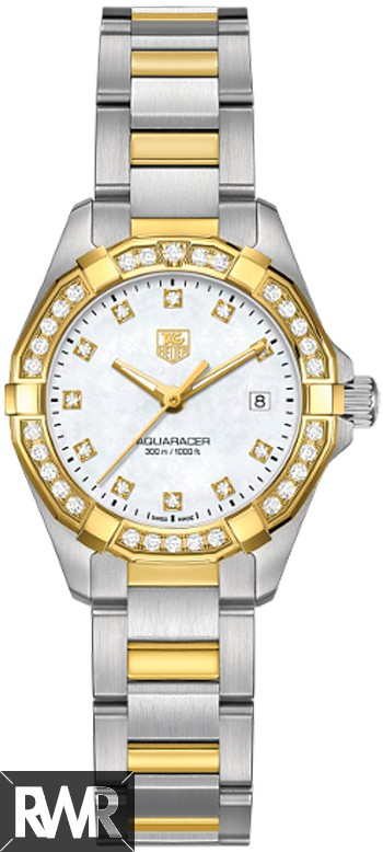 Replica TAG Heuer Aquaracer Ladies 300M Steel & Yellow Gold27 MM WAY1453.BD0922