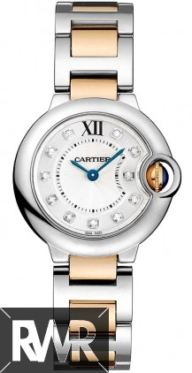 Replica Cartier Ballon Bleu 28mm Ladies Watch WE902030