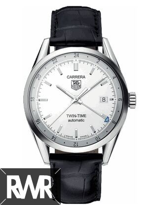 Replica Tag Heuer Carrera Twin Time Mens Watch WV2116.FC6180