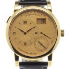 A Lange and Sohne 112.021 Lange 1 A guilloche gold dial Replica