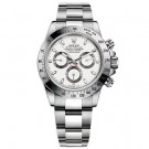 Rolex Daytona White Index Dial Oyster Bracelet Mens Watch Fake