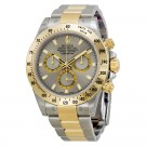 Rolex Daytona Grey Chronograph Steel And Yellow Gold Mens Watch Fake