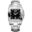 Chopard Two O Ten Black Dial Stainless Steel Ladies imitation Watch 118464-3001