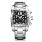 Chopard Two O Ten Automatic Chronograph Black Dial Steel Ladies imitation Watch 158961-3001