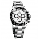 Replica Rolex Cosmograph Daytona White Dial Stainless Steel Oyster 116500WSO