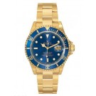 Replica Rolex Submariner Champagne Dial 18K Yellow Gold Oyster Quartz 16618CDO