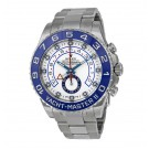 Replica Rolex Yacht-Master II White Dial Stainless Steel Oyster 116680