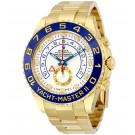 Replica Rolex Yacht-Master II White Dial 18K Yellow Gold Rolex Oyster 116688WAO