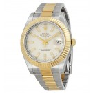 Replica Rolex Datejust II Cream/Ivory Dial Stainless Steel and 18K Yellow Gold Oyster 116333ISO