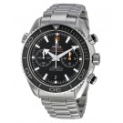 imitation Omega Seamaster Planet Ocean Black Dial Chronograph Stainless Steel 232.30.46.51.01.003
