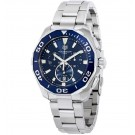 imitation Tag Heuer Aquaracer Blue Dial Chronograph Stainless Steel CAY111B.BA0927