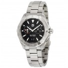 imitation Tag Heuer Aquaracer Chronograph Black Dial Stainless Steel WAY111Z.BA0928