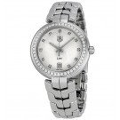 imitation Tag Heuer Link Diamond Silver Dial Stainless Steel Ladies WAT1316.BA0956