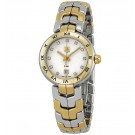 imitation Tag Heuer Link Silver Guilloche Dial Steel and Gold Ladies WAT1450.BB0955