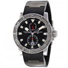 Ulysse Nardin Maxi Marine Diver Black Dial Automatic Men's Replica Watch 263-33-3/92