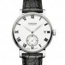 Fake Chopard Classic Manufacture White Dial 18K Rose Gold Automatic 161289-5001