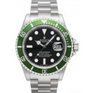Rolex Submariner Date Green Bezel Black Dial 16610LV-93250 Replica replica.