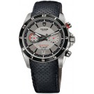 Replica Tudor Grantour Chrono Fly-Back Silver Dial Black Leather Men's Watch