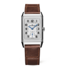 fake Jaeger-LeCoultre 2458422 Reverso Classic Medium Duoface Small Seconds Stainless Steel/Silver/Fagliano