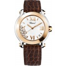 Chopard Happy Sport Round Quartz 36mm Ladies imitation Watch 278492-9001