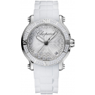 Chopard Happy Sport Round Quartz 36mm Ladies imitation Watch 278551-3003