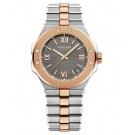 Replica Chopard Alpine Eagle 41mm Steel and Rose Gold Gray Dial