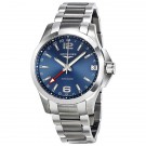 Longines Conquest GMT Automatic Blue Dial Mens Watch L3.687.4.99.6 Replica